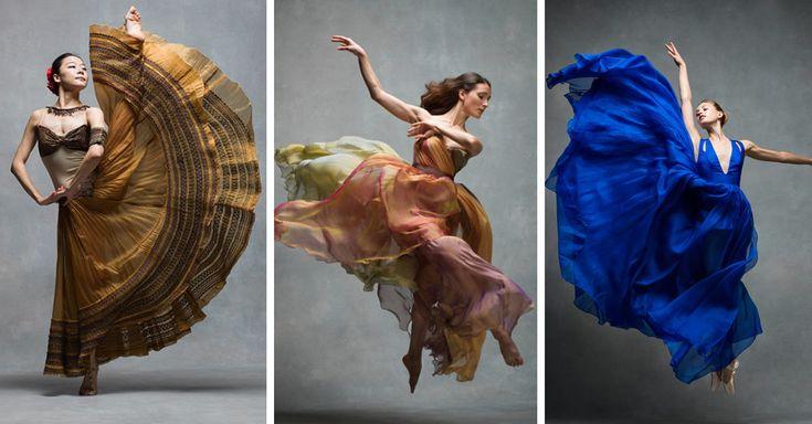 El NYC Dance Project fue diseñado para mostrar a través de fotografías la perfección de los movimientos de los bailarines a través de la danza contemporánea.
