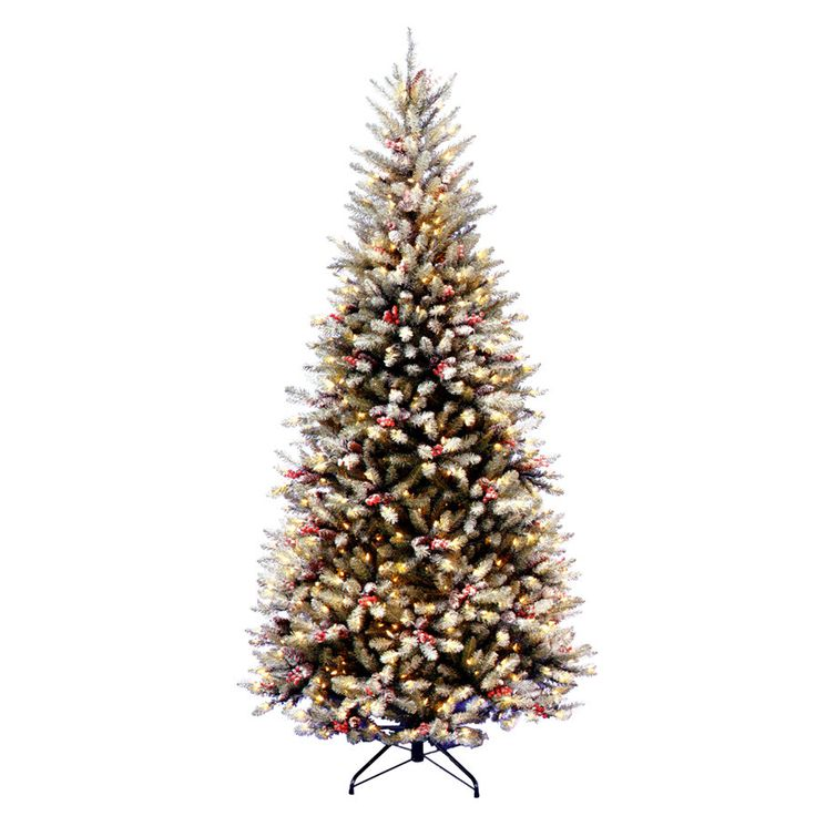 9ft Pre Lit Christmas Tree