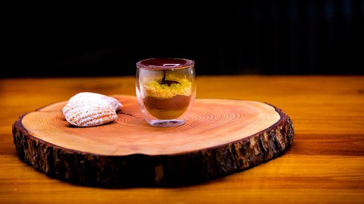 Bistro Vue's Warm Chocolate Orange Mousse by Shannon Bennett