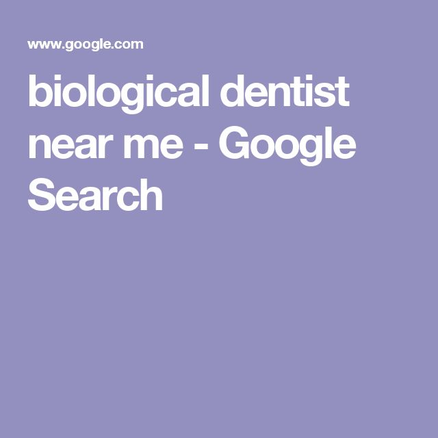 biological dentist near me - Google Search