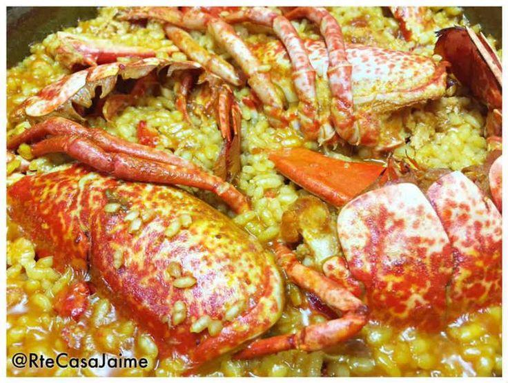 Arroz con bogavante del mediterráneo € Restaurante Casa Jaime Peñíscola (Castellón/Castelló) Reserva online para comer bogavante. EligeTuPlato.es