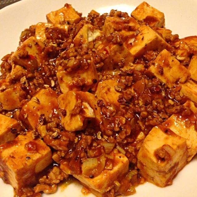 島豆腐で作りました(o^^o) - 16件のもぐもぐ - 陳健一の麻婆豆腐 by tomoechin