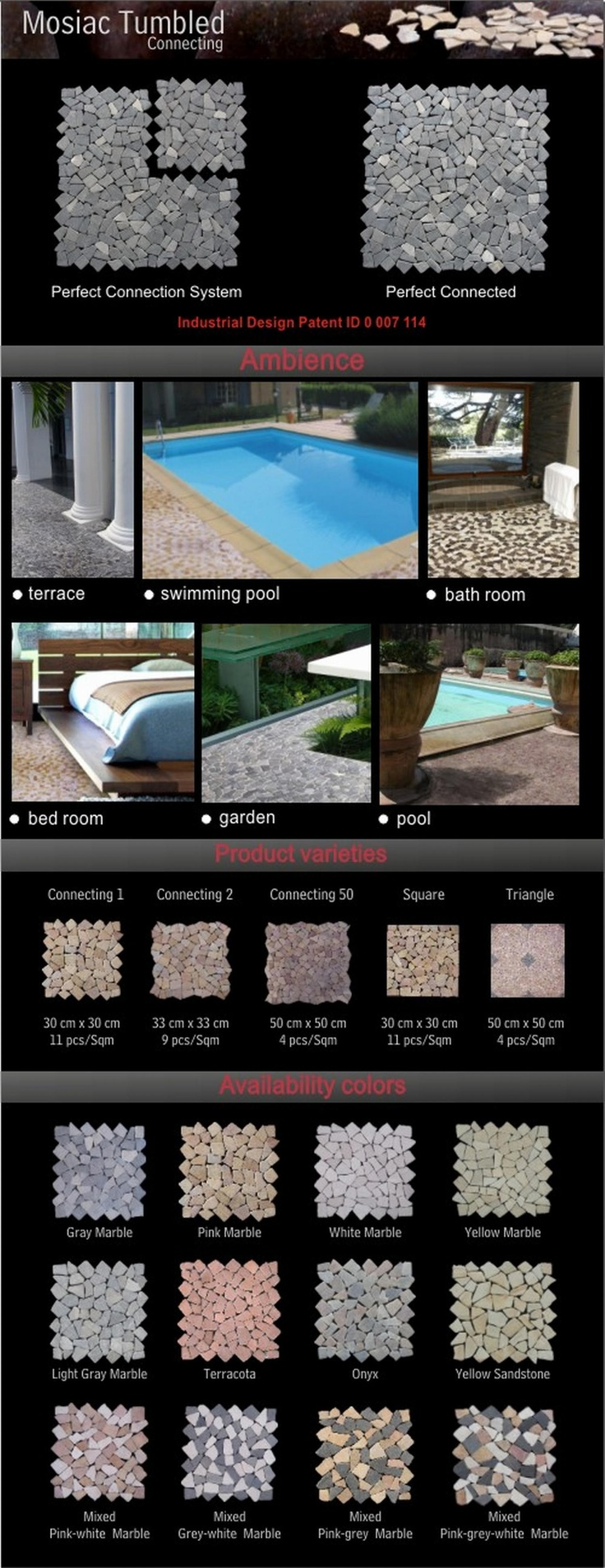 de_atmo@yahoo.com Stone Tumbled Mozaic