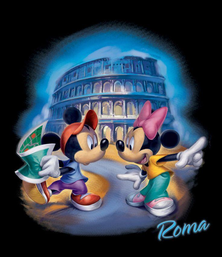 *MICKEY & MINNIE ~ Roma