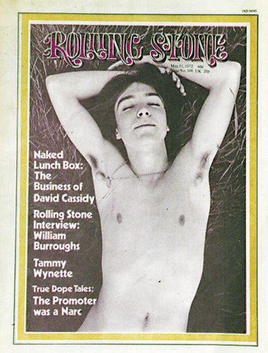David Cassidy    I have this magazine!! And he touched it!!! :D so I have Cassidy germs :D