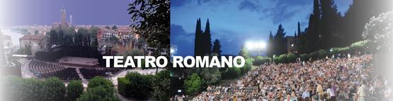 """Teatro Romano  Roman Theater in Verona (not to be confused with the arena)  Host to the """"VeronaJazz"""" festival, poetry reading and other stage performances"""