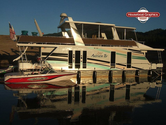 Best Striping Decals For Your Boat Or Houseboat Images On - Houseboats vinyl numbers