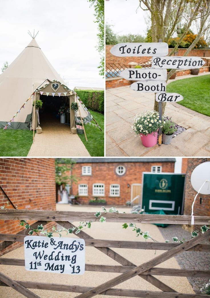 A rustic back garden wedding. See more images on http://www.rockmywedding.co.uk/category/real-weddings/rustic-romance/
