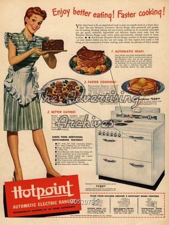 Hotpoint Cooker.
