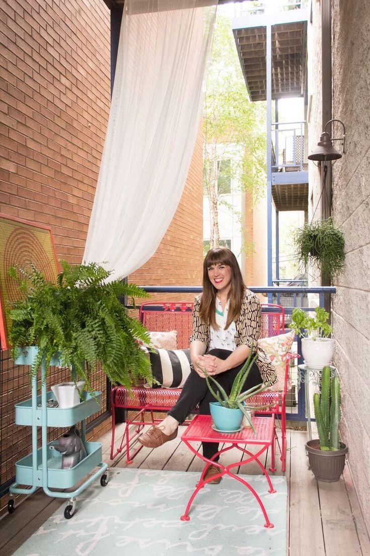 Les 25 meilleures id es concernant porche d 39 appartement for Decoration balcon d appartement