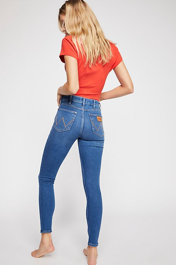 online great discount for latest selection of 2019 Wrangler High-Rise Skinny Jeans | Women's Fall Trends in ...