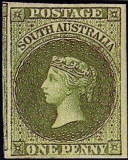 Rare Australian States Stamps 1855