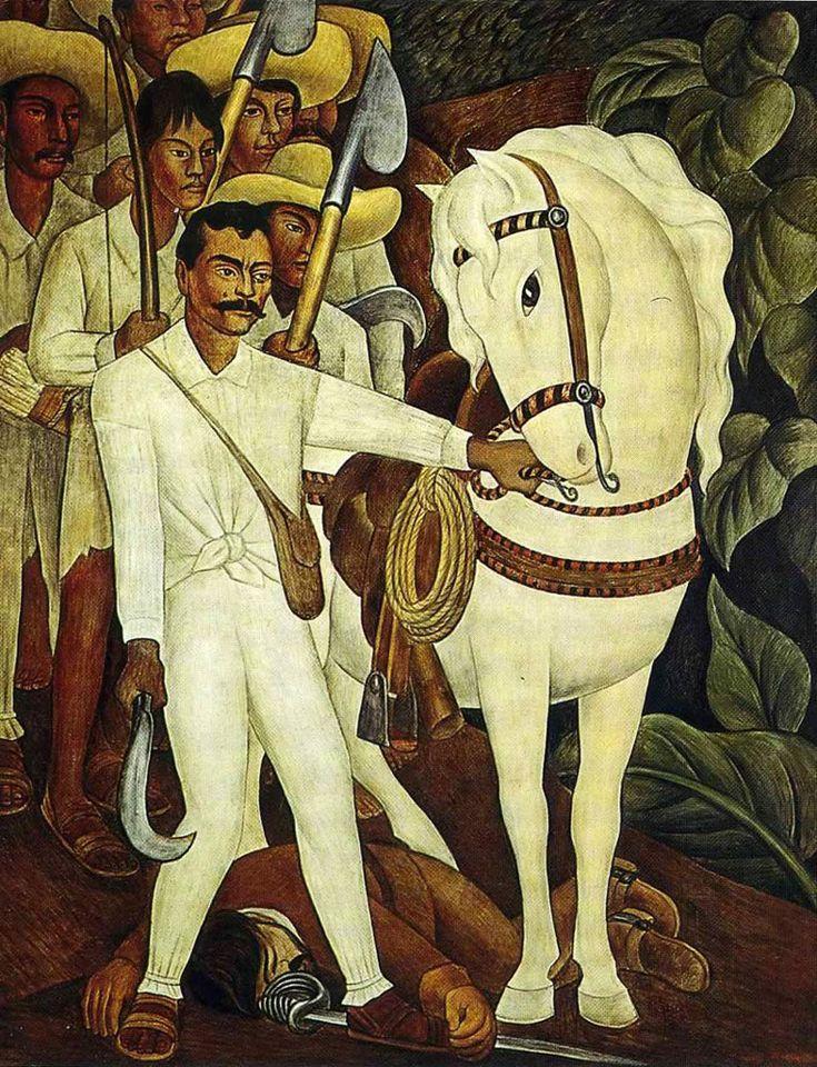 Agrarian Leader Zapata (1931) Diego Rivera