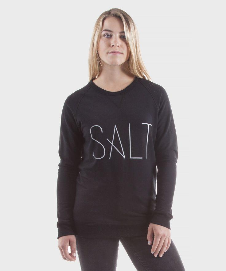 Pacific Sweater     Black - SALT
