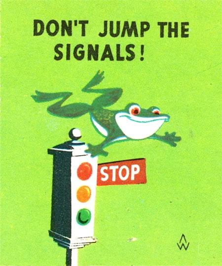 Scanning Around With Gene: Matchbook Wisdom on Traffic Safety | CreativePro.com