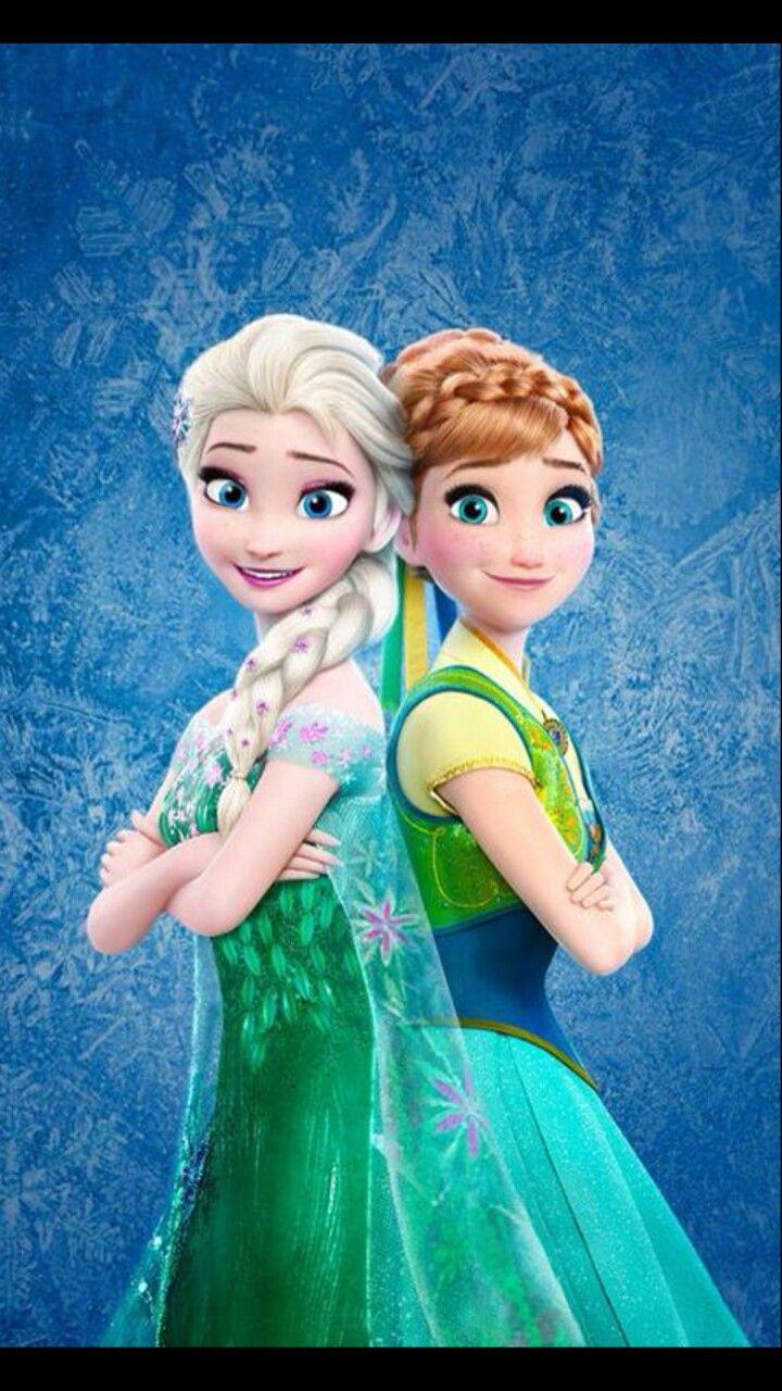 frozen elsa and anna animasyon