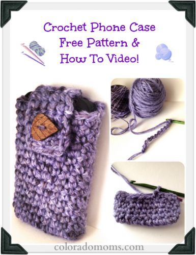 Crochet Phone Case Free Pattern