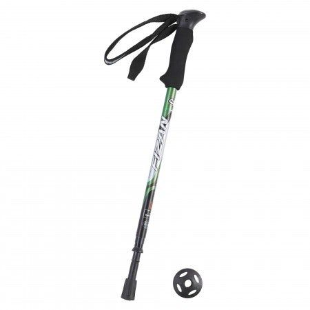 The Fizan Compact 4 is an all-terrain lightweight and adjustable aluminium walking pole that can also be used in the snow.