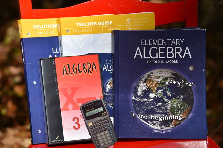 What you need for Jacob's Algebra 1: Textbook, Video Lessons. Teachers Guide Supplement, AskDrCallahan Teacher's Guide,  Solutions Manual, and calculator.
