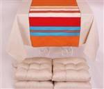 Polyester mat set 4 seater Bone by ESRATASARIM on Etsy, $89.00