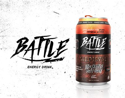 """Check out new work on my @Behance portfolio: """"Battle - Energy Drink"""" http://be.net/gallery/40692531/Battle-Energy-Drink"""