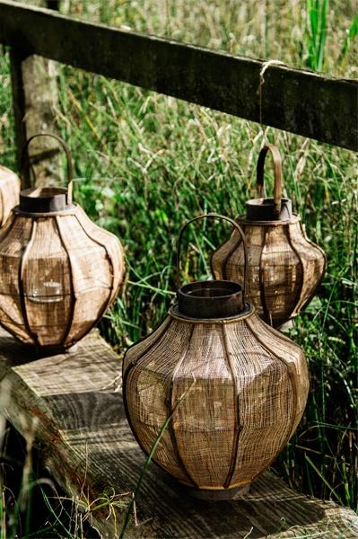 Bamboo lantern from Madam Stoltz