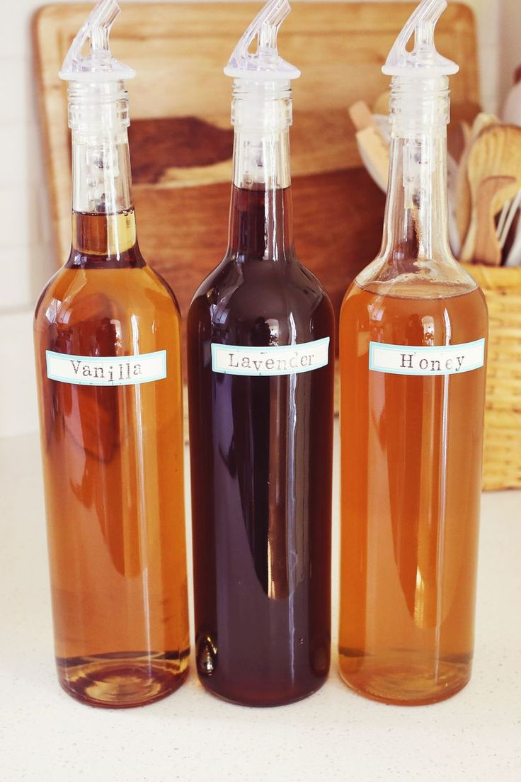 Homemade Coffee Syrup-   @Megan Crandall there's also a link for raspberry, caramel, and vanilla syrups also