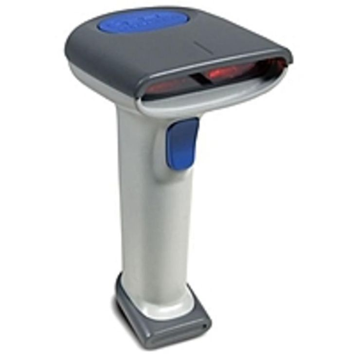 Datalogic QS652040032401 QS6500 Barcode Reader with 12 Feet USB Type A Assembly Cable - 450 scans-second - Serial, Keyboard Wedge, USB - Gray