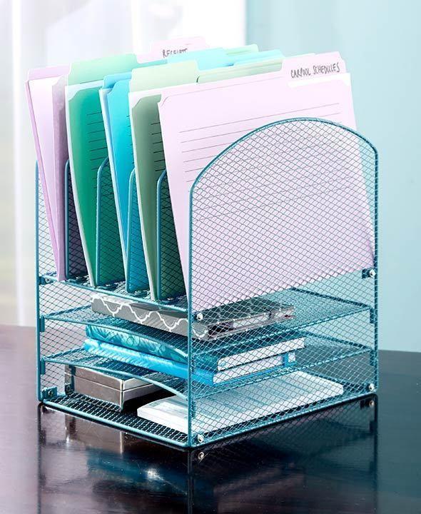 Desk File Organizer