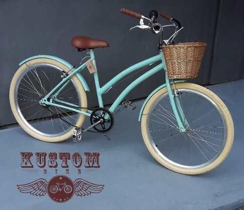 Bicicleta Feminina Retrô - Vintage Antiga Ceci Aro 26 - R$ 898,00