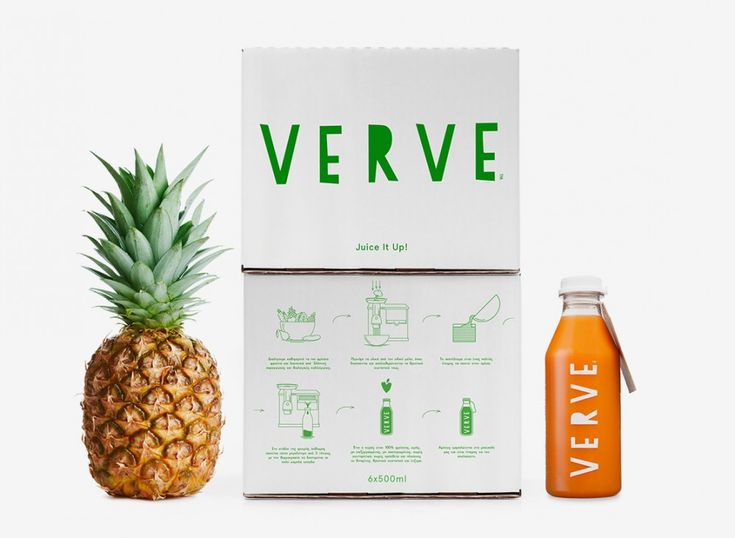 Verve Juices by Bob Studio - The Greek Foundation