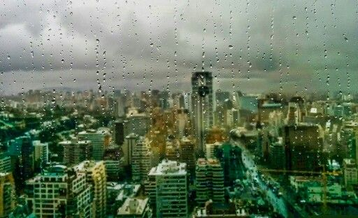 Ver la lluvia caer