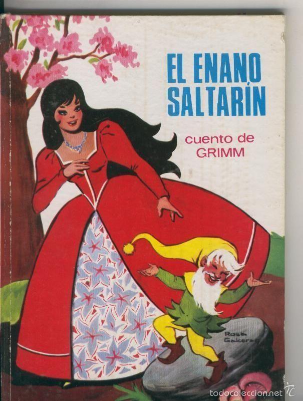 Cuentos Toray serie Cuentos Azucena numero 08: El enano saltarin, cuento de Grimm - Foto 1