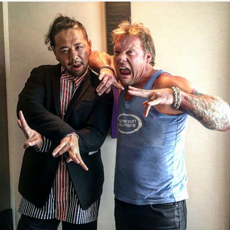 Shinsuke Nakamura and Chris Jericho
