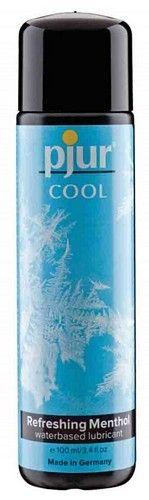 Pjur Cool - 100 ml fra Pjur - Sexlegetøj leveret for blot 29 kr. - 4ushop.dk - Pjur Cool er ikke bare en ny kølende vandbaseret glidecreme. Den er mere end dette. Den giver med sin kølende effekt og sit touch af mentol en helt unik virkning på dit samvær med din partner. Udforsk dine sanser gennem spændende samspil mellem varmen af lidenskab og den stimulerende friskhed af gelen.
