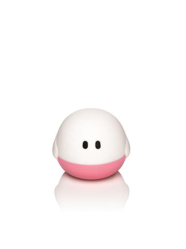 http://www.lampen-line.de/philips-led-kinder-tischleuchte-bollie-1-flg-art-nr-445111916-auslaufmodell.htm   ...wie ein kleiner Freund ... spielerische 3D-Form, zum Einschalten kippen (Inklusive Akku), Knautschbar, BPA frei, anschmiegsam, ohne Kabel, da nur zum Erzeugen von Atmosphäre