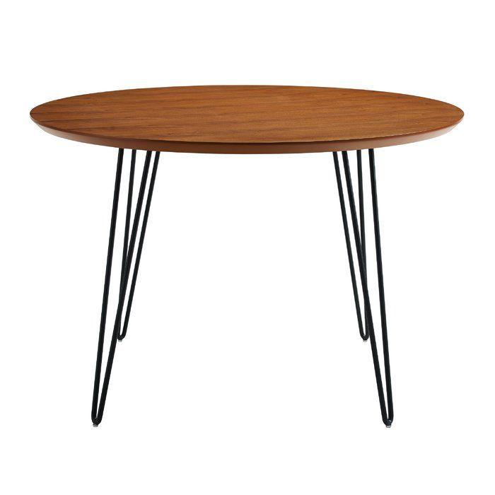 Chrisman Hairpin Dining Table Hairpin Leg Dining Table Dining
