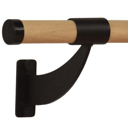 Wood Wall Mounted Ballet Barre (5ft Single Bar)