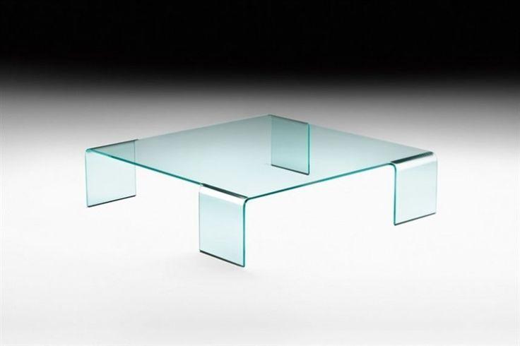 GlazenDesignTafel.nl   FIAM   Italian design   glazen salontafel Neutra by Rodolfo Dordoni   glass table   interior design   vidre glastoepassingen, Leiden