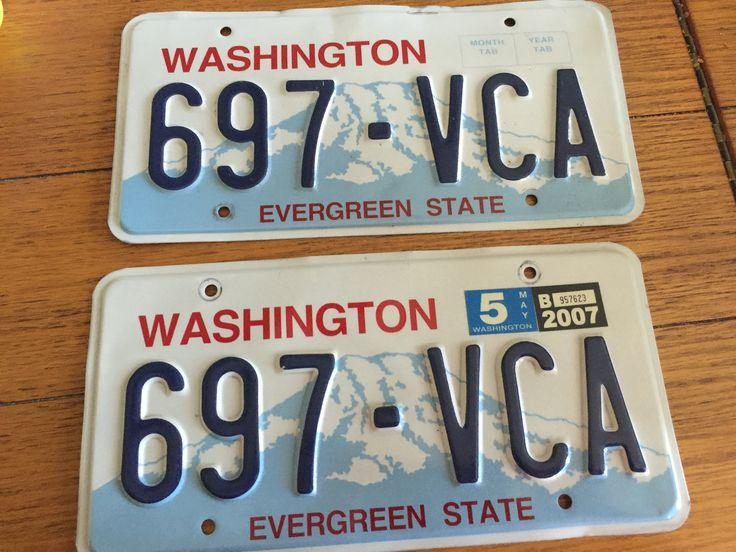 Washington State Standard Issue (pair) Evergreen state