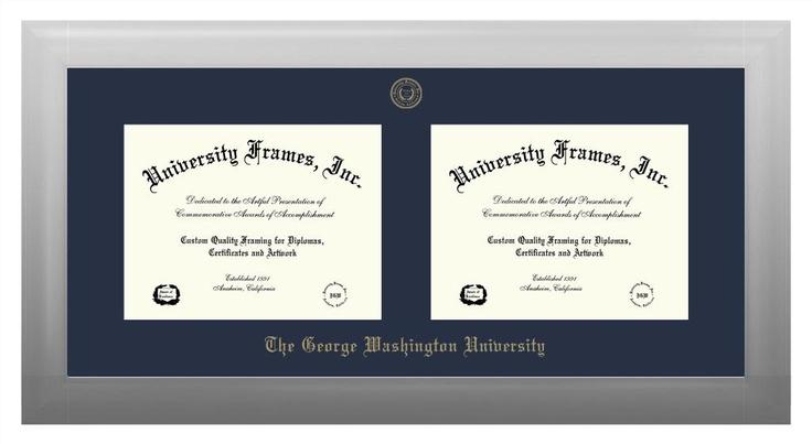 Double Degree Side By Side University Frames