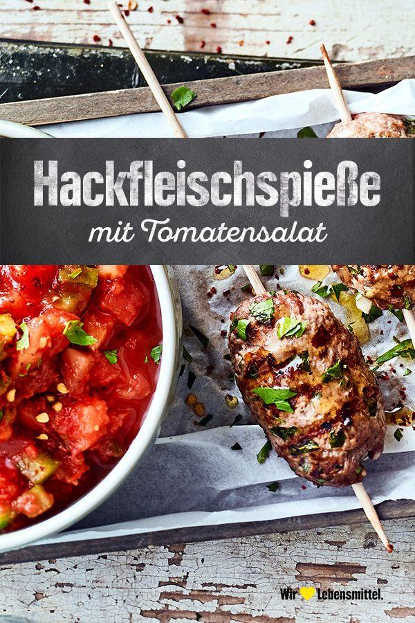 Hackfleischspiesse Rezept Edeka Rezept Rezepte Schaschlik Rezept Beilagen Zum Grillen