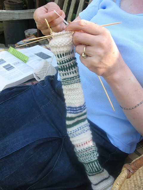 Ravelry: CarlaM's Twined Knitting Sampler