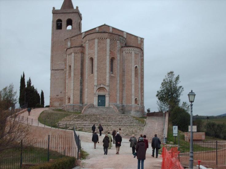 Offida's monastery, Marches, Italy