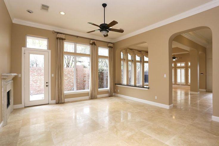 3106 ROSEMARY PARK LN HOUSTON TX 77082 Beige Tile Flooring Living Room Pictures