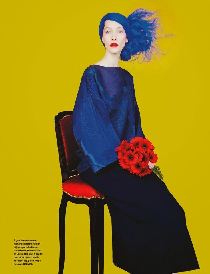 Alana Zimmer by Erik Madigan Heck for Numéro #156 September 2014 3