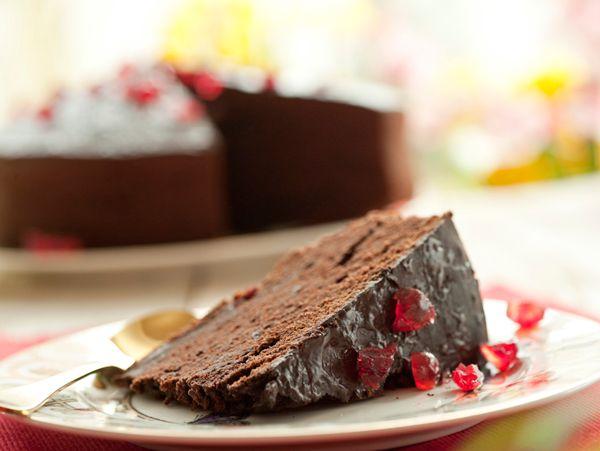 Tarta de chocolate paradise