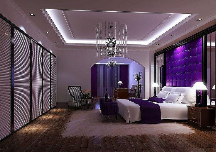 Die Besten 25+ Lila Schlafzimmer Akzente Ideen Auf Pinterest   Wohnzimmer  Grau Violett