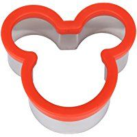 Ebake Stainless Steel Sandwich Cutter Biscuit Mold Cookie Cutter (Mickey Mouse)