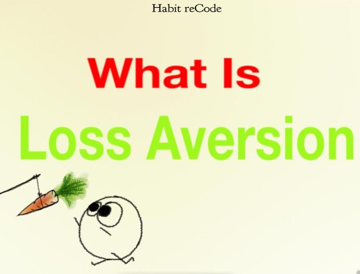 Loss aversion by Habit recode  A powerful psychological motivator.